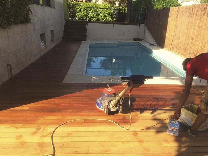 Suelo de madera para exterior fabulous suelos de madera - Suelo exterior madera ...