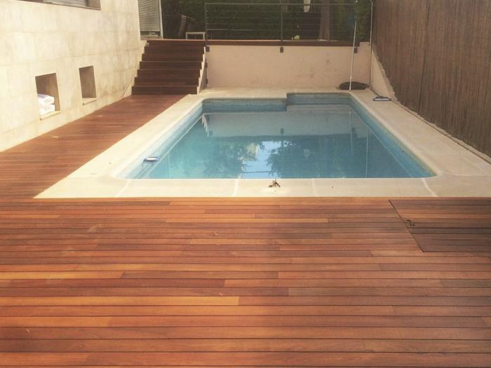 Suelo de madera exterior awesome suelo de madera para - Suelo exterior madera ...